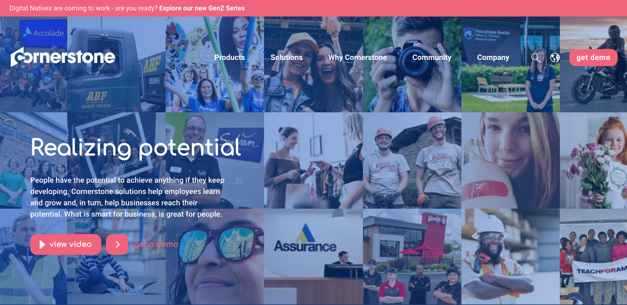 Cornerstone - SaaS Website Inspiration